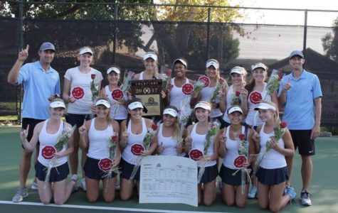 Girls Tennis Sweeps State and CIF