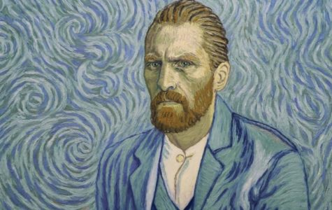 This painting is based off of actor Robert Glyacz, who plays Vincent in the film
