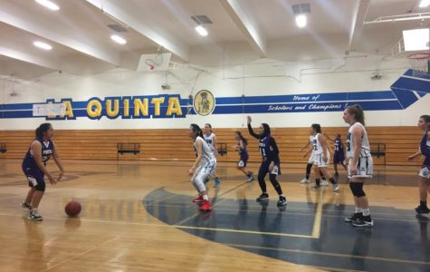 Junior Varsity Girls Basketball La Quinta Tournament