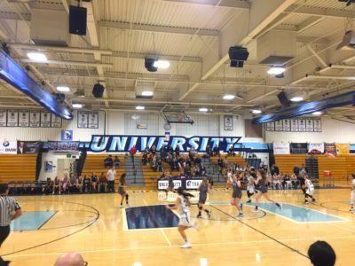 Girls Junior Varsity Basketball vs University High School