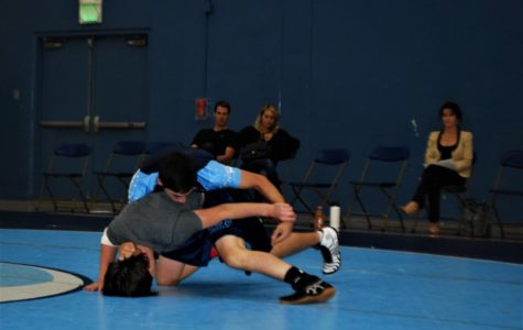 CdM Wrestling: Black and Blue Matches and Four Way Varsity Duals