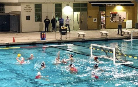 Girls Water Polo Match vs Foothill