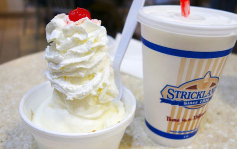 Stricklands Ice Cream