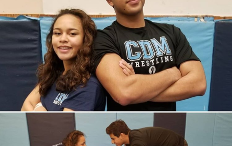 CdM Girl's and Boy's Wrestling CIF