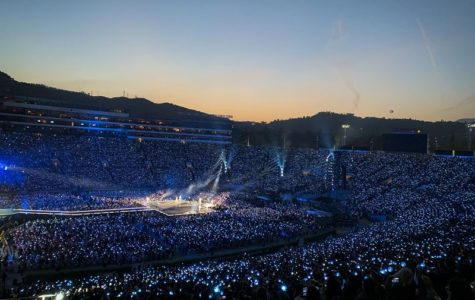 BTS at the Rose Bowl