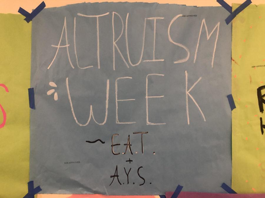 Altruism Week 2019