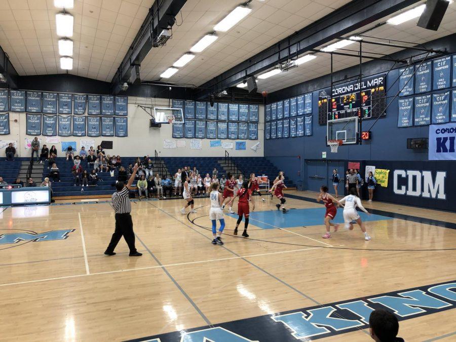 Varsity+Girls%27+Basketball+Senior+Night