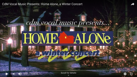 "Review: CdM Vocal Concert ""Home Alone"""