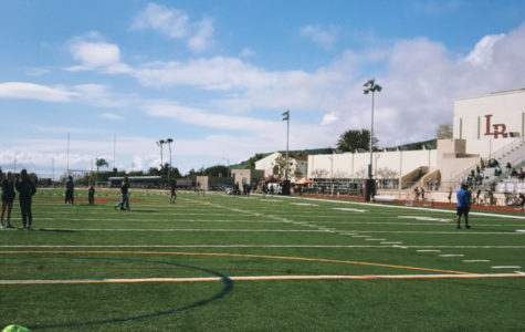 Track Meet at Laguna Beach High